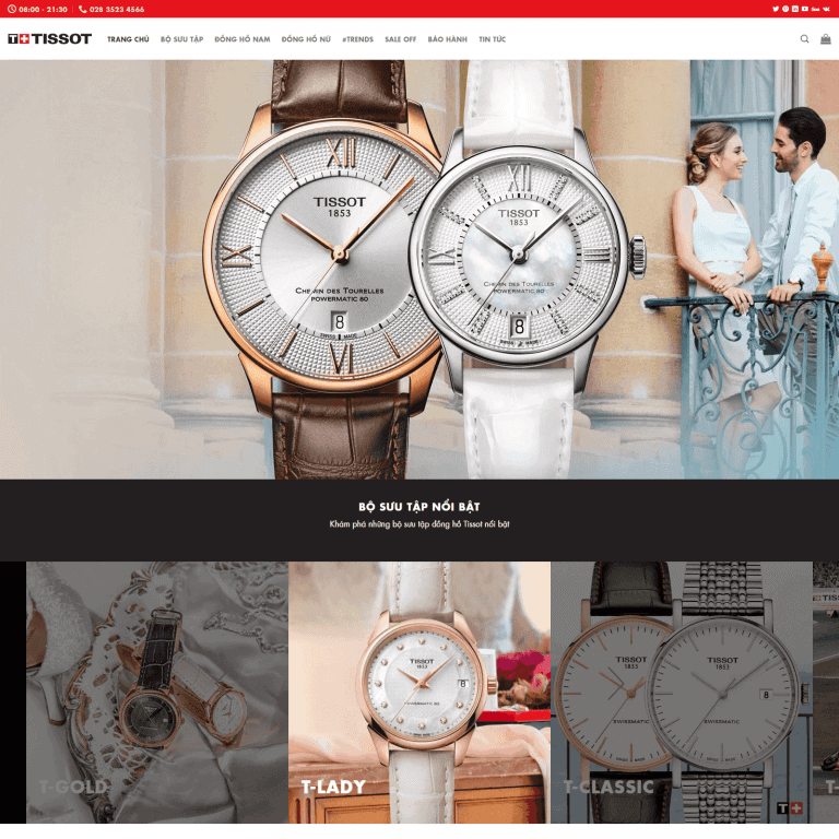 luxury shopping - tissot