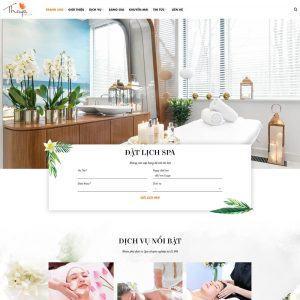 Demo website Luxury Spa