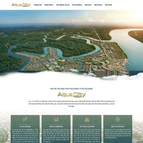 website aqua city