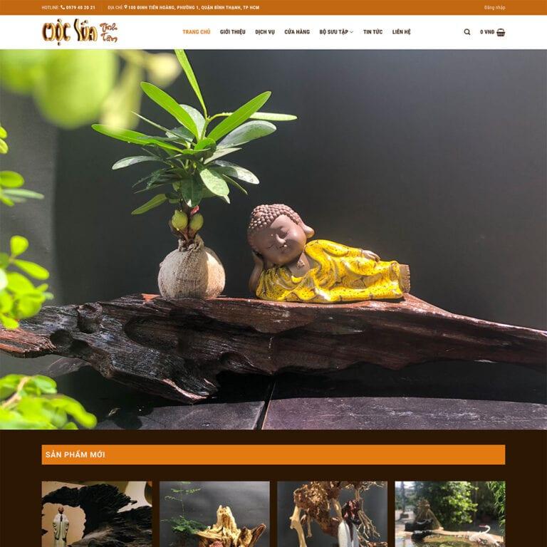 Thiet ke website Moc Lua Tinh Tam