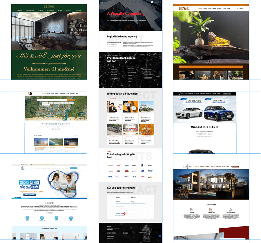 thiet ke website chuan seo